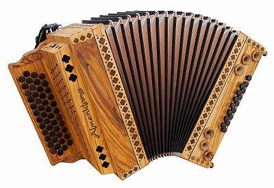 Steirische Harmonika - Vollholzmodell
