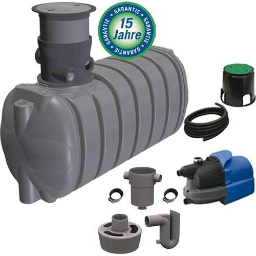 regenwassertank 4000 l liter wassertank zisterne tank von geoplast aus sterreich. Black Bedroom Furniture Sets. Home Design Ideas