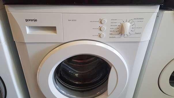 aktion gorenje waschmaschine wie neu mit 3 monate garantie gratis lieferung anschluss. Black Bedroom Furniture Sets. Home Design Ideas