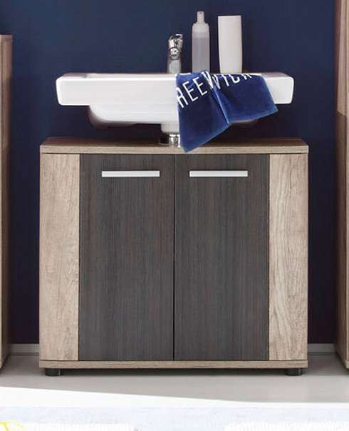 waschbeckenunterschrank bad m bel unterschrank eiche. Black Bedroom Furniture Sets. Home Design Ideas