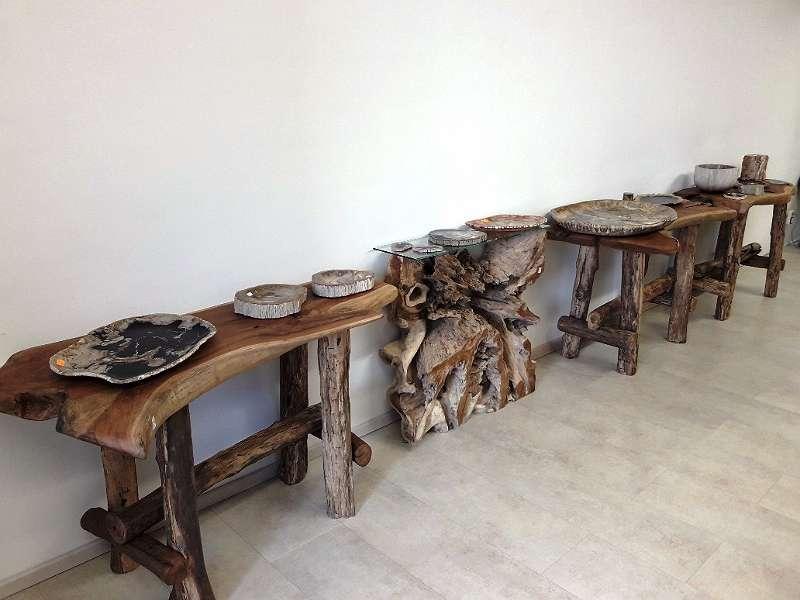 tischplatte aus baumstamm affordable neu planen ber tisch baumstamm kaufen finest kauri tables. Black Bedroom Furniture Sets. Home Design Ideas