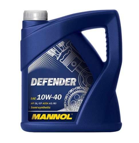 mannol defender 10w 40 motor l 5l 10w40 mit gratis versand. Black Bedroom Furniture Sets. Home Design Ideas