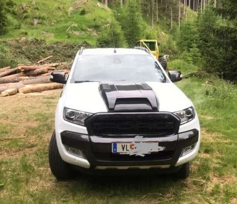 motorhaube abdeckung passend f r ford ranger t7 raptor. Black Bedroom Furniture Sets. Home Design Ideas