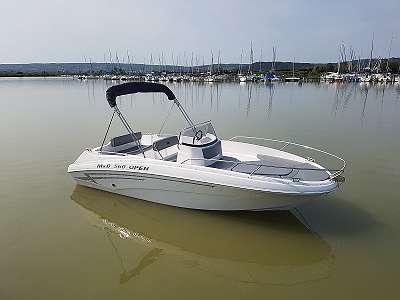 MD 560 OPEN Motorboot Elektroboot
