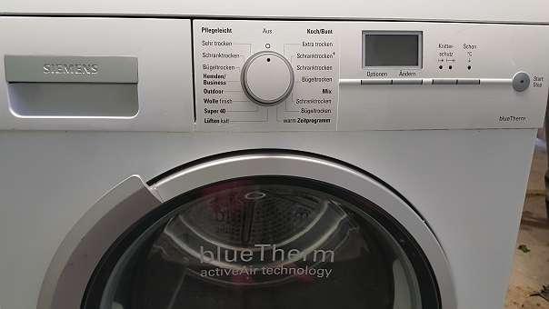 Siemens wärmepumpen wäsche trockner wie neu mit monate garantie