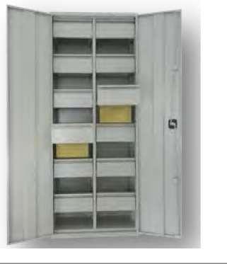 euroregal h ngemappenschrank mit fl gelt ren schrank stahlschrank 299 4614. Black Bedroom Furniture Sets. Home Design Ideas
