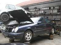 mercedes e220 cdi w210 automatik getriebe