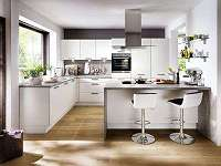 Fabriksneue Küche mit großer KochInsel und Esstheke, mit allen Geräten, statt ? 15400 nur ? 5699