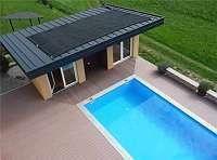 Rippenrohr Pool Solarabsorber - Solarheizung für Schwimmbecken