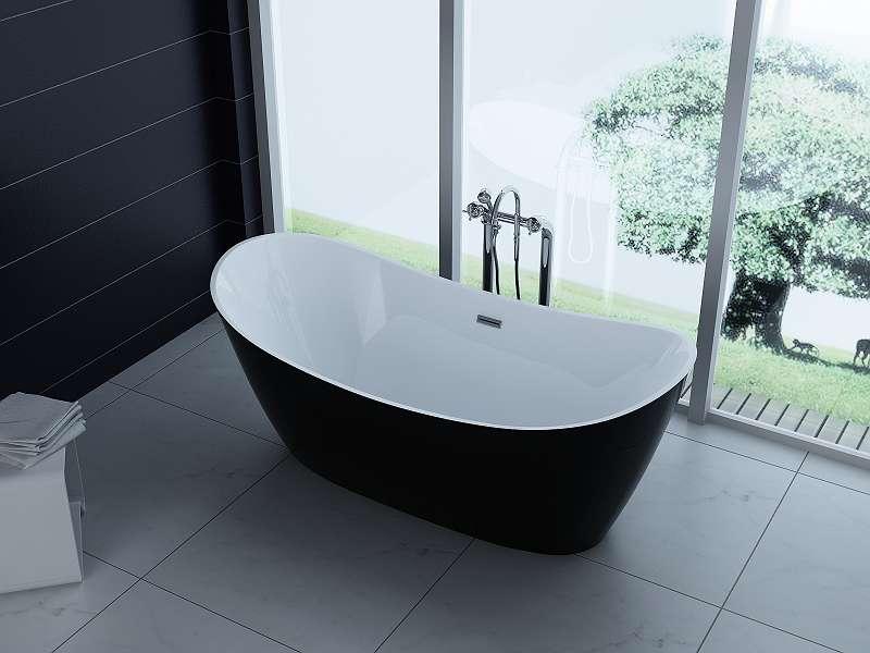 Luxus Freistehende Badewanne 170x80 Acrylwanne Inkl Ablauf Und