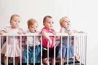 gebrauchte Kinder- und Gitterbetten diverser Hersteller