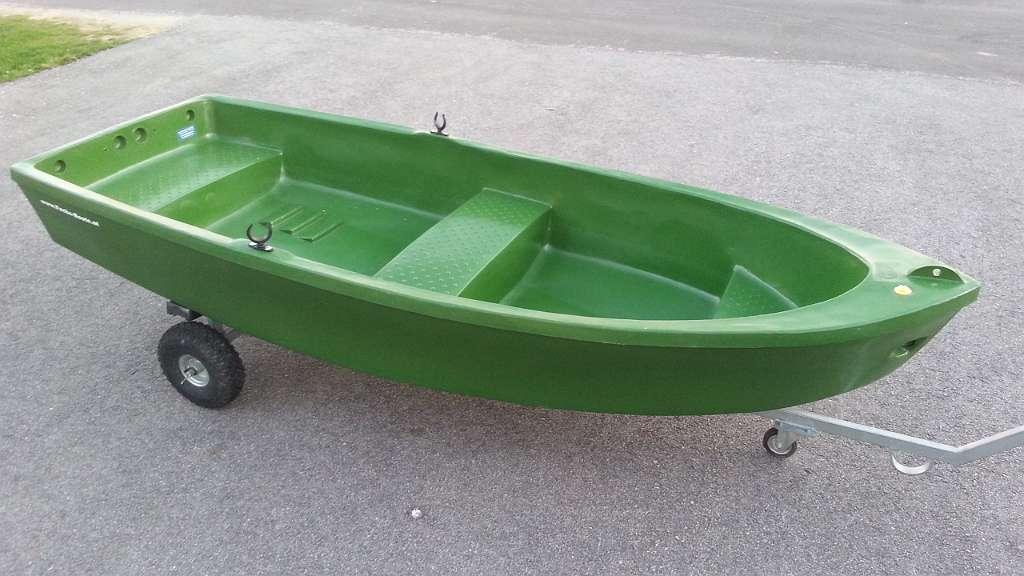 Bild 1 von 11 - 300 cm PE Boot Angelboot Futterboot Ruderboot Fischerboot Motorboot Beiboot Dinghy