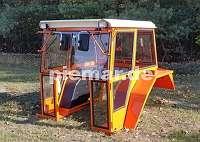 Traktor Traktorkabine Nr. 17e Kabinen mit aufstellbare Frontscheibe