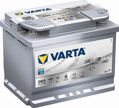 VARTA SILVER DYNAMIC AGM D52 12V 60Ah 680A