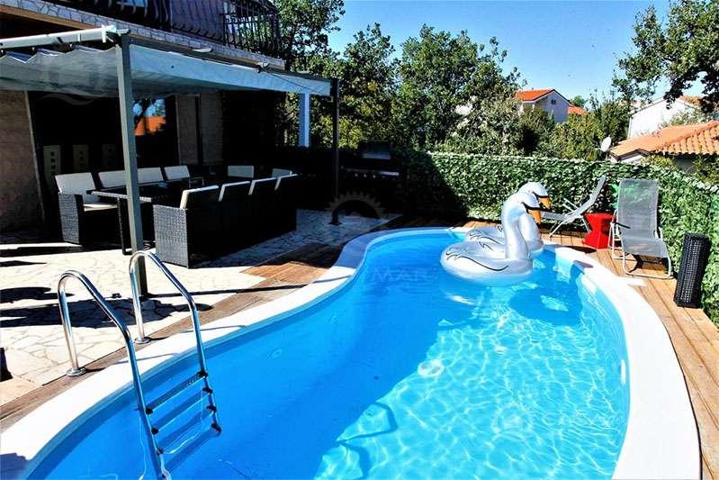 Schönes Haus mit Pool, nur 100 m vom Meer entfernt! 51511 Kroatien 6 Zimmer