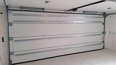 Garagentore - Sektionaltore - Deckensektionaltore - 1 Abverkaufstor 5500x2250 anthrazit - fabriksneu original verpackt Mayr&Söhne GeneralvertriebsgmbH - Sierning bei Steyr