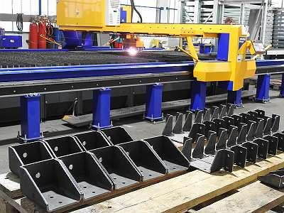 Lohnfertigung Plasmazuschnitte Laserzuschnitte