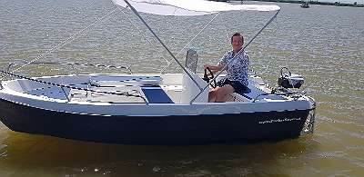 NEU lagernd 420 GFK DELUXE Fuchs BOOT Angelboot Fischerboot Familienboot Badeboot Ruderboot Motorboot 30 PS / Lod Lodi Clun Boot Bassboat mit 4 x großes Staufach bis 290 cm lang auf Wunsch mit Bootsanhänger Ankerwinde Anker Motor Persenning Zubehör D