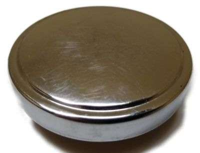 TANKDECKEL Ø 40 mm * Original ZKW * chrom (NOS) * PUCH MONZA 4+6 Gang
