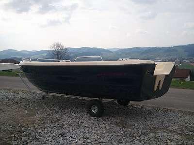 gebr. - 2018er Boot 400 Lake Angelboot Ruderboot Fischerboot Familienboot Motorboot Boot auf wunsch mit Bootsanhänger Außenborder usw