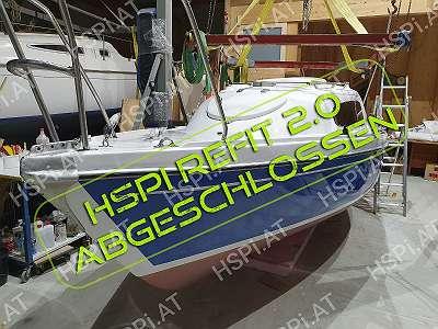 (VERKAUFT) Manta 19 HSPi ReFIT 2.0 - Serviciert, Segelfertig, sofort Startklar - Segelboot/ Elektroboot