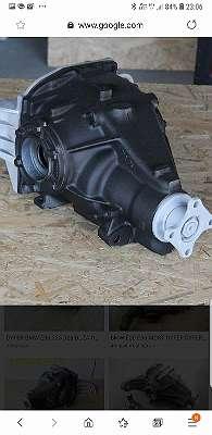 Differenzial Überholte Getriebe Reduktor Kardanwelle