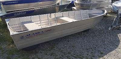 Aluboot Aluminiumboot Aluminium Boot Alaska Boot 500 S Angelboot Ruderboot Motorboot Fischerboot geschweißt