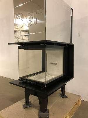 Kamineinsatz BeF Therm V 6 U + hochschiebbar + Ausstellungsstück