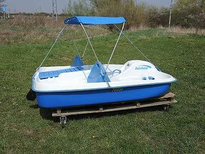 Tretboote Paddelboote Elektroboote