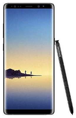 Samsung galaxy Note 8 Schwarz Neu offen für alle Karte