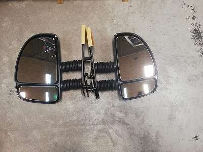 Außenspiegel Links für FIAT Ducato , CITROEN Jumper PEUGEOUT Boxer Polcar 5702513M