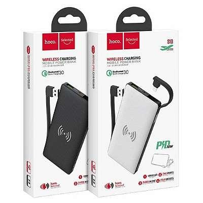 Powerbank wireless mit iPhone Lightning hoco S10 10000mAh