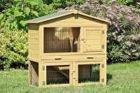 Kaninchenstall - NEU - Hasenkäfig Kleintierstall Kaninchenkäfig Hasenstall Hühnerstall