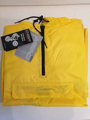 Gelber Regenponcho für Damen und Herren