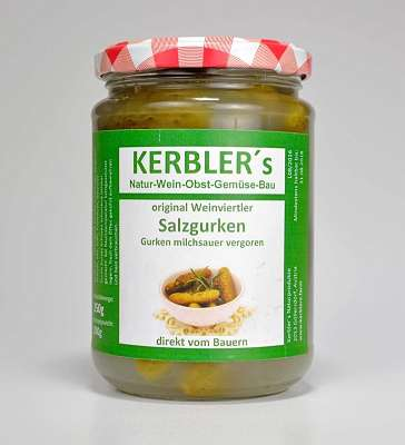 Familie Kerbler – Salz-Gurken