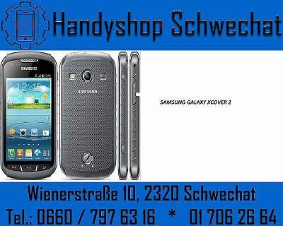 SAMSUNG GALAXY XCOVER 2 / BLACK / GEBRAUCHT / OFFEN FÜR 3 / HANDYSHOP SCHWECHAT, WIENERSTRASSE 10 2320 SCHWECHAT