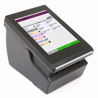 Registrierkasse Kassensystem | Finanzamt konform 2020 | RKSV - TSE* inkl. Kassensoftware LYNNE sowie integriertem Bondrucker für Gastronomie, Handel uvm. Modell: TICKETMASTER (V8 - 4G)