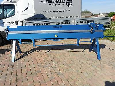 Abkantbank Kantbank Biegemaschine 3140/1.0 + Rollenschere Blechbiegemaschine Abkantmaschine NEU