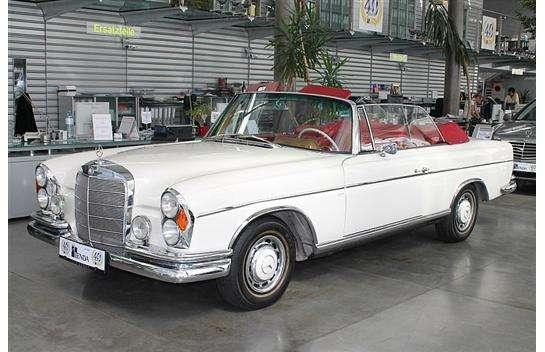 mercedes benz 220 se cabrio cabrio roadster 1964 57. Black Bedroom Furniture Sets. Home Design Ideas