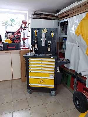 BAMATO Premium Werkstattwagen WORK-550