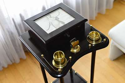 eleganter Humidor, Rauchertisch, Zigarrentisch