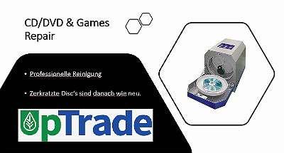 Wir reparieren Ihr Spiele Wii, Gamecube, Ps1, usw