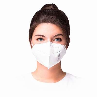 Atemschutzmaske FFP2 NR - Weiß - CE Zertifiziert