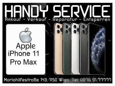 Apple iPhone 11 Pro Max 64GB in BLACK ? 699, - wie