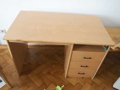 table for working, writing desk