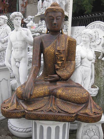 Buddha 230 Kg Feng Shui Steinfigur Frostbest Ndig Figur