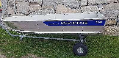 M10 Aluboot Aluminiumboot Marine Boote Fischerboot Angelboot Ruderboot Fuchs-Boote