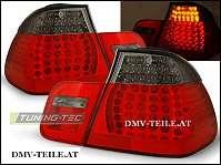 NEU LED Rückleuchten rot/ schwarz oder Rot Weiss BMW E46 Coupe Bj. 99-03