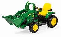 12V PEG PEREGO John Deere Ground Loader Kinder Elektro Traktor