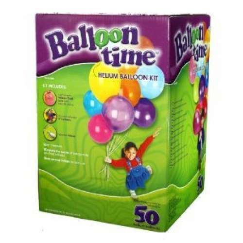 helium gas ballongas luftballon folienballon balloon time kit 50 heliumballon luftballon 50. Black Bedroom Furniture Sets. Home Design Ideas